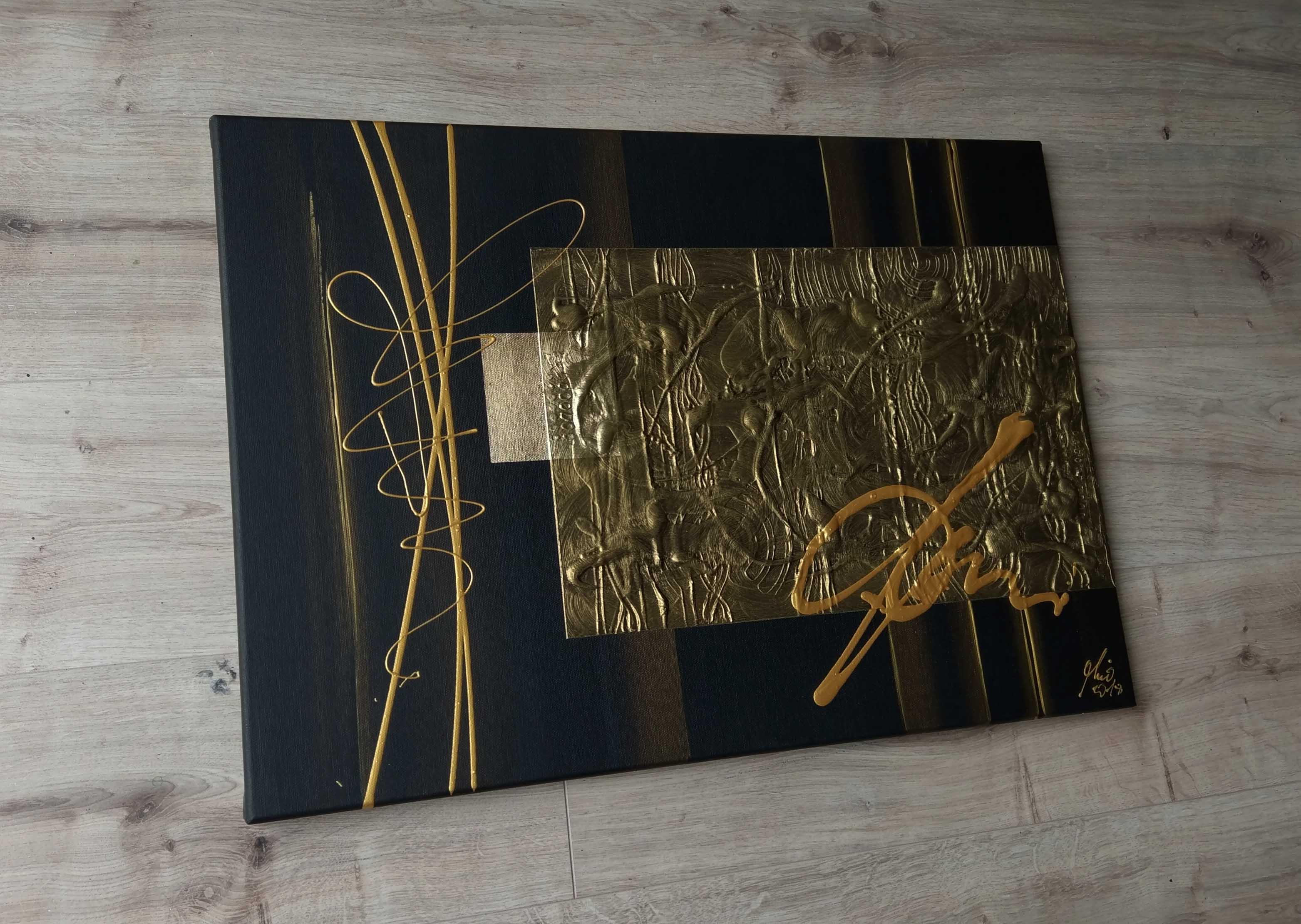 mico original abstrakt wandbild moderne bilder kaufen. Black Bedroom Furniture Sets. Home Design Ideas