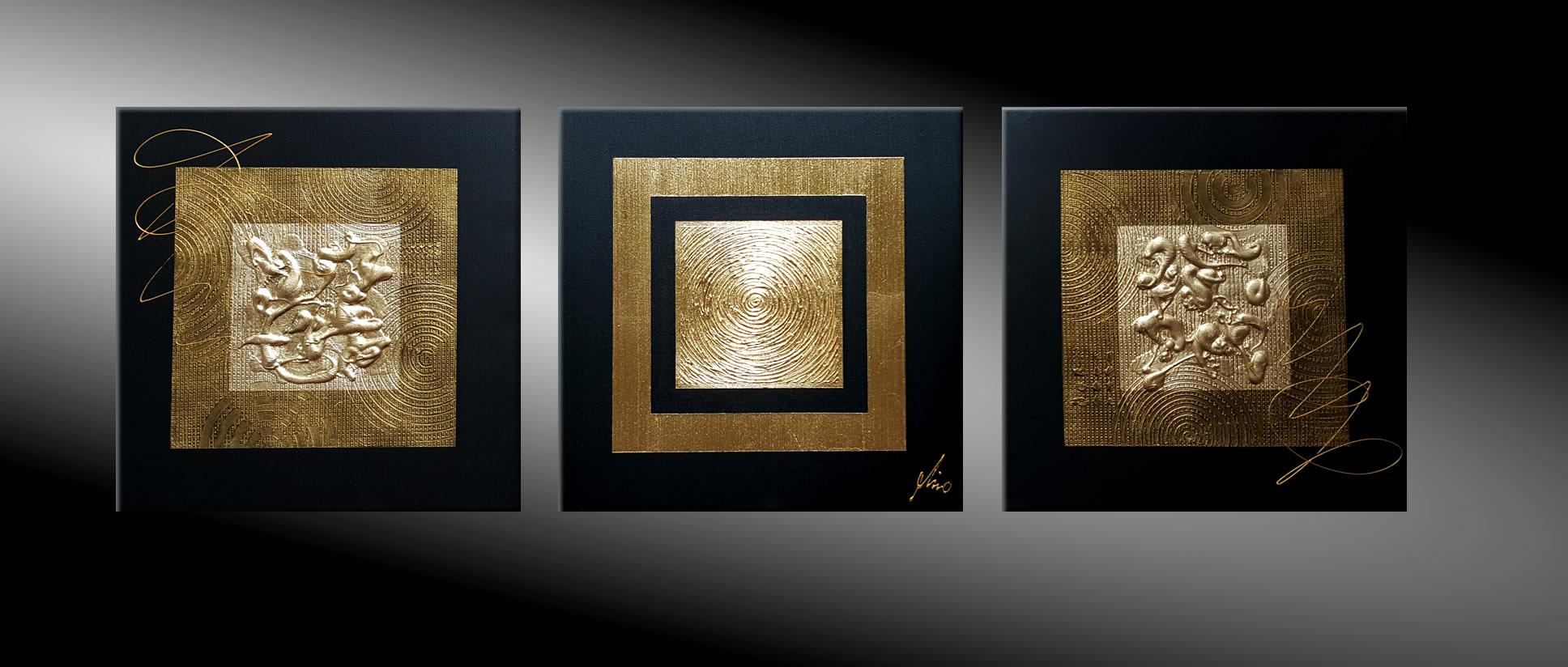 Gemälde Gold