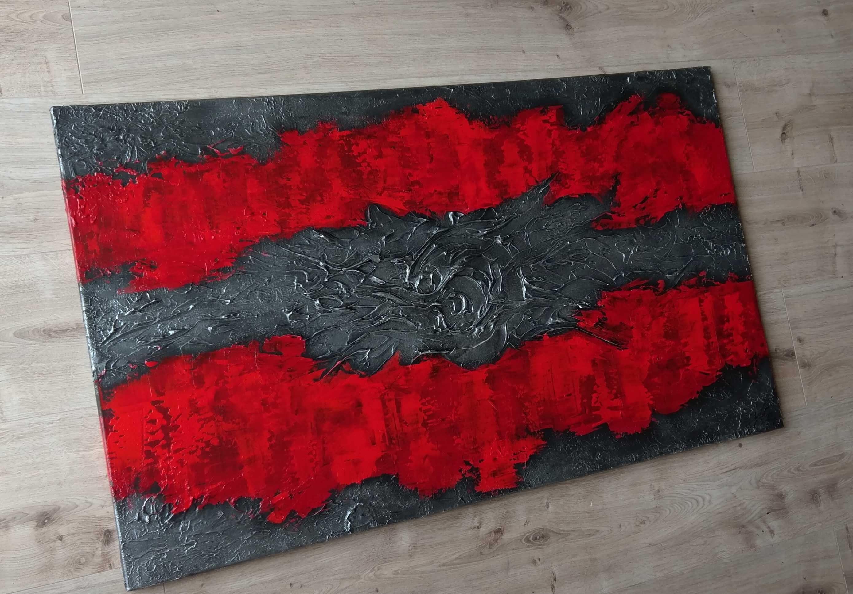 mico original acrylbild struktur leinwand gem lde kunst. Black Bedroom Furniture Sets. Home Design Ideas