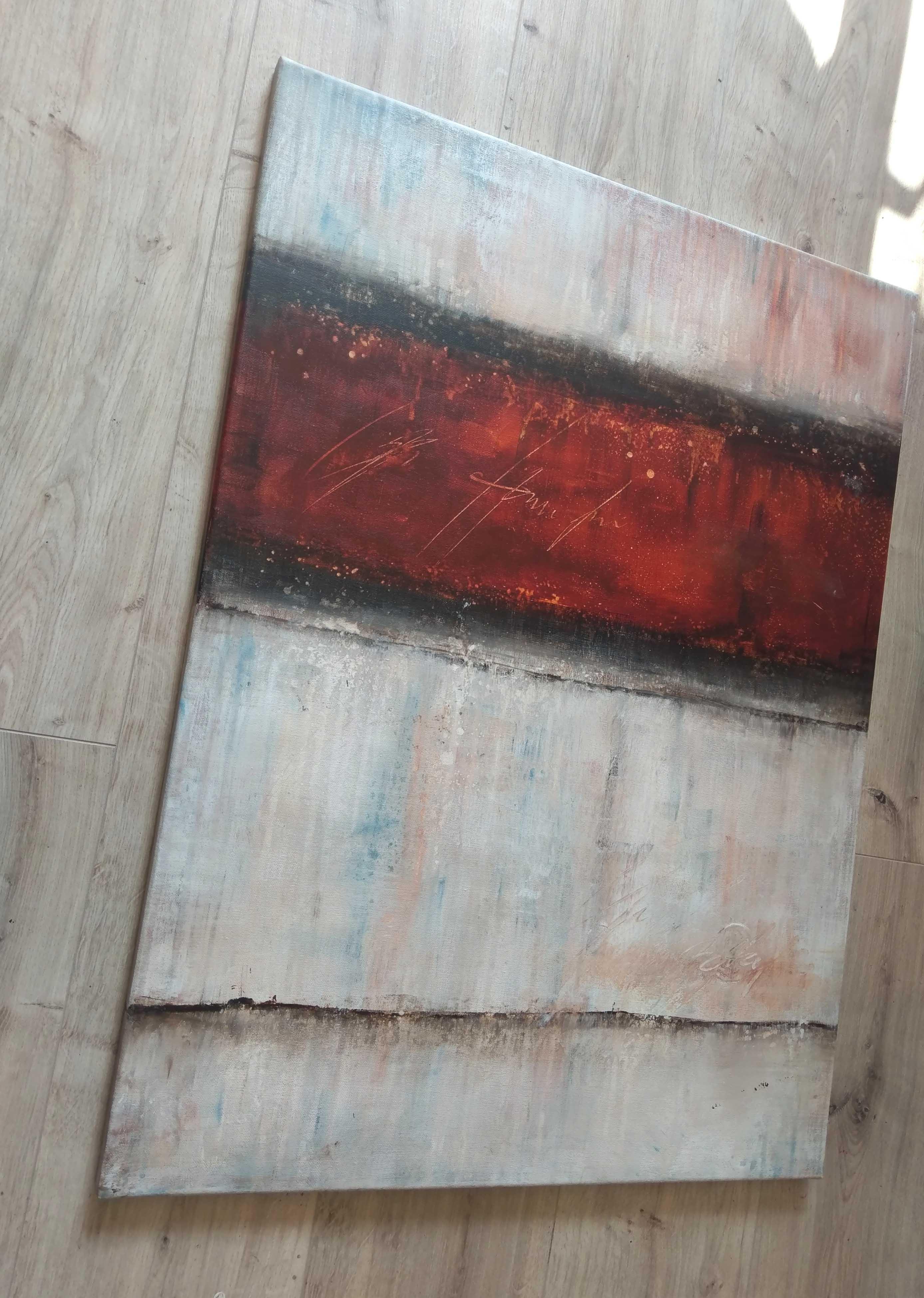 gem lde modern kunst malerei abstrakt original 60x80 bild. Black Bedroom Furniture Sets. Home Design Ideas