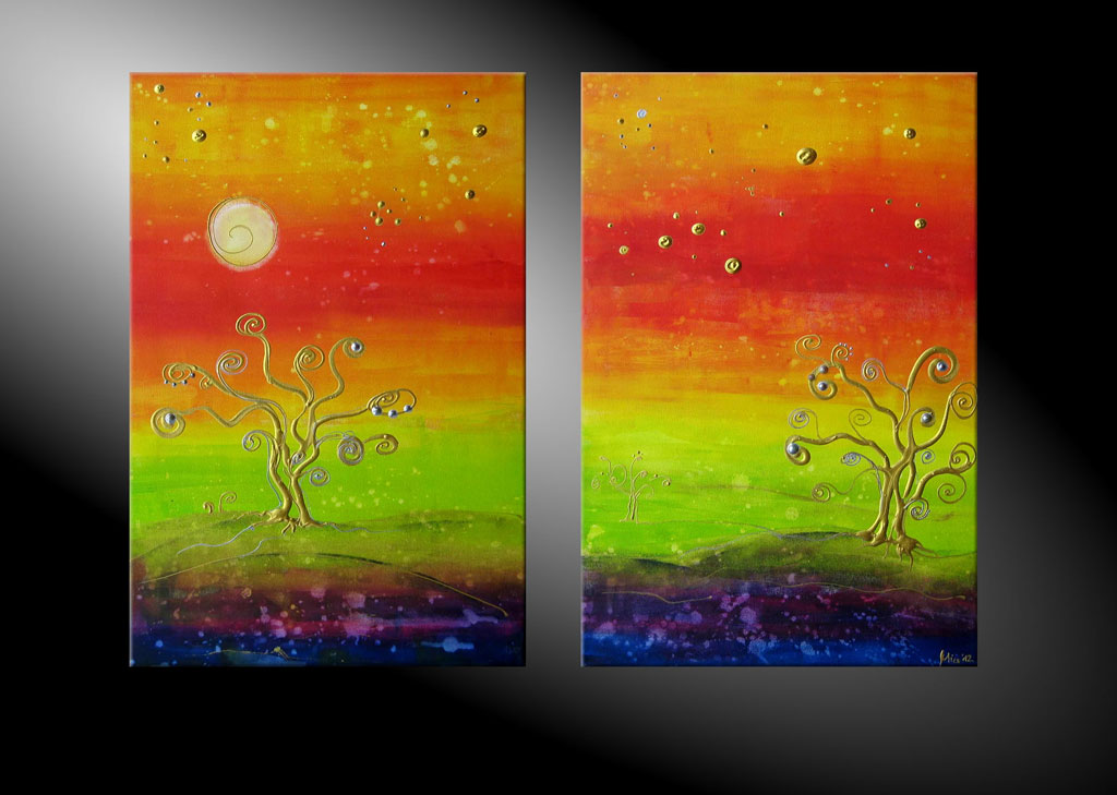 - Between Moderne Kunst in Acryl kaufen
