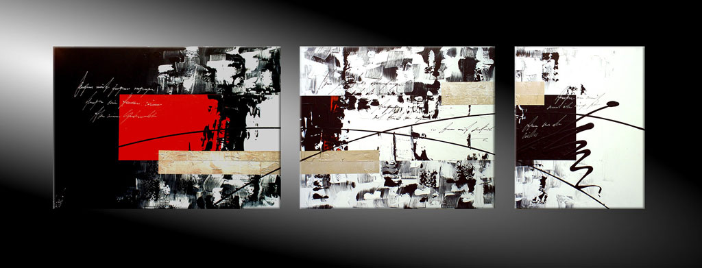 - LOST IN TRANSLATION V 170x50 Moderne Kunst in Acryl kaufen
