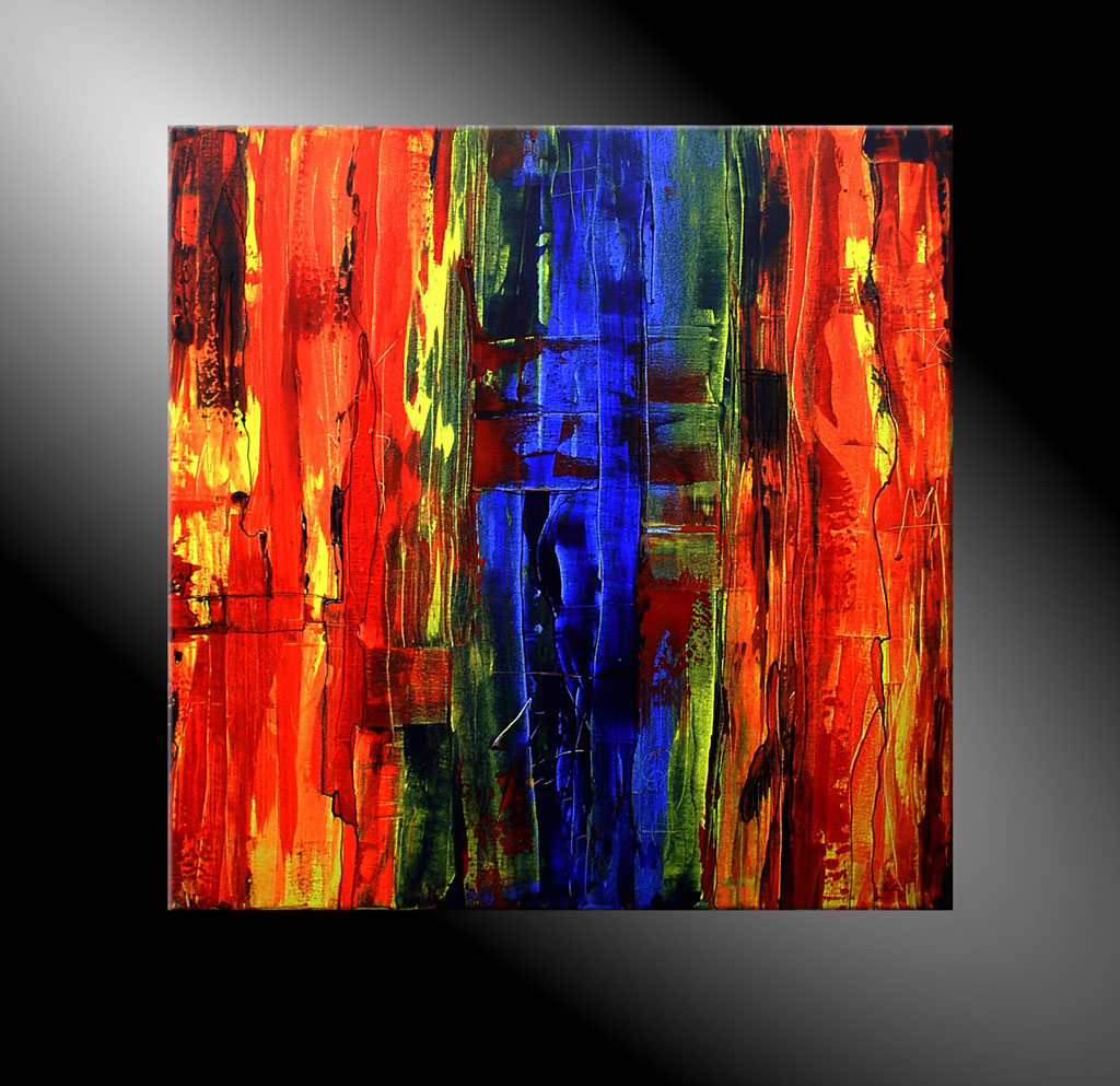 - MESSAGES V 80x80 Moderne Kunst in Acryl kaufen